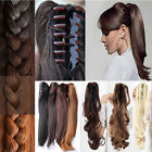 Wrap Around/Claw Clip In Pony Tail Hair Extension New 16 Style Long Hairpiece M2