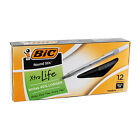 BIC Round Stic Ball Pen, Fine or Medium, Choice of Blue, Black or Red