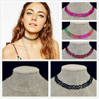 Nice  Vintage Stretch Tattoo Choker Necklace Retro Gothic Punk Elastic 80s 90s