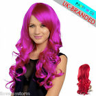 Koko Long Wavy Curly Colour Party Costume Full Head Wigs All Shades UK Stock