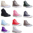 Converse Hi Top Plimsolls Women Canvas Trainers Men Size Available