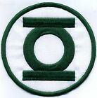 "5"" Green Lantern Corps Classic Style Embroidered Iron-on Patch"