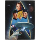 Star Trek Starfleet Original Crew & Starship Lighted Canvas Wall Art Decoration on eBay