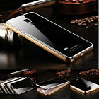 Aluminum Metal Tempered Gorilla Glass Cover Case For Samsung Galaxy Note 4 N9100