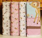 Disney Bambi Woodland Panel & Coordinating Fabrics SOLD SEPARATELY bty