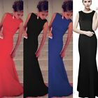 Sexy Womens Lady Long Maxi Formal Evening Party Cocktail Dress Prom Gown