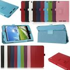"Luxury Folio PU Leather Case Stand Cover for Acer Iconia One 8 B1-810 8"" Tablet"
