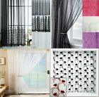 Voile Panel Net Curtain 3 Great Designs Slot Top Header ~ Many Patterns & Sizes