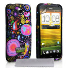 TPU Silicone Gel Cover - Jellyfish Patterned Smart Phone Cases for the HTC One X