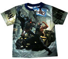BATMAN THE DARK KNIGHT BANE boys vibrant summer t-shirt Sz XS-L 4-8y Free Ship