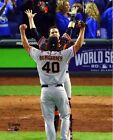 Buster Posey Madison Bumgarner SF Giants 2014 World Series Celebration Photo #2