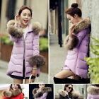 Luxurious Winter Warm Women Good Real Fur Hood Real Down Parka Sleeve Fur Coat