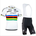Cycling Bike Short Sleeve Clothing Bicycle Sports Bib Jersey Shorts Set