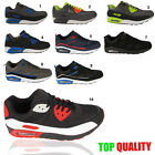 MENS TRAINERS CASUAL LACE AIR WALKING BOYS RUNNING GENTS SPORTS SHOES SIZE 7-12