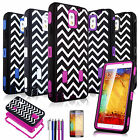 Heavy Duty Hybrid Shockproof Hard Case Cover for Samsung Galaxy Note III 3 N9000