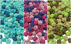 Knotted Round Fabric Bead - Mixes