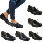 Ladies Work Office & Casual Slip-on Chunky Flatforms Loafers Women's Shoes Pumps