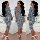 Woman Fashion Casual OL style Short T-Shirt + Tight Pencil Skirt Suit Ornate
