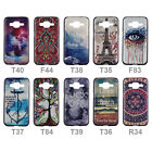 For Samsung Galaxy Core Prime SM-G360 Art Pattern Hard Rubber Back Case Cover