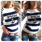 Hot Women's Casual Round Neck Pullover T-Shirt Lady Long Sleeve Tops Blouse