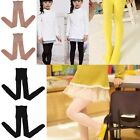 New Black Nude Kids Girls Child Hosiery Pantyhose Footed Tights Stockings Socks