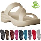 Women's Dawgs Z Sandals Slides Flip-Flops Shoes Built-In Arch Support Cushioning