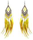 JF174 wholesale lots downy Feather tear drop chandelier earrings U pick quantity
