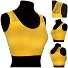 Seamless Comfort Bra Sport Shapewear Crop Vest Stretch Comfy Leisure Holiday NEW