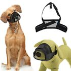 Adjustable Pet Dog Mask Mouth Mesh Muzzle Grooming Anti Chew Barking Bite 5 Size