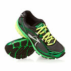 New Mens Brooks Ravenna 4 Running Shoes Black / Green / Silver MSRP $110