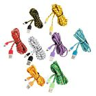1M / 2M Braided Woven USB Data Sync Charger Cable for LG G2 G3 G4 Pro Nexus 5 6