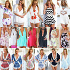 Sexy Women Celeb Lace Playsuit Party Evening Summer Romper Dress Shorts Jumpsuit
