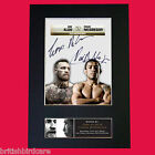 Jose Aldo & Conor McGregor Quality Autograph Mounted Signed Photo PRINT A4 564