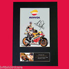 DANI PEDROSA Quality Autograph Mounted Photo Reproduction Print A4 573