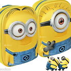 Despicable Me Minions 3D EVA Backpack School Rucksack New Gift