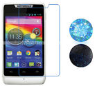 Clear Matte Mirror Diamond Screen Protector For Motorola RAZR D1 XT914