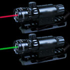 Set Red/Green Laser Sight W/Remote Switch Universal Mount For Rifle Hunting