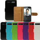 Flip Pu Leather Flip Case Wallet Cover For The Blackberry Q20 Classic