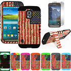 Distressed American U.S Flag Defender Cover Case for Samsung Galaxy S5 Active