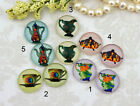 12mm 16mm 20mm cab Handmade glass Photo cabochon water bottle 12M001