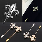 Vintage Alloy Men's Weeding Suit Shirt Lapel Stick Brooch Pin Corsage Accessorie
