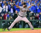 Madison Bumgarner San Francisco Giants 2014 World Series Game 7 Action Photo