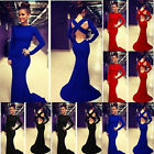 Women Sexy Bandage Celeb Evening Dress Prom Gown Cocktail Party Long Maxi Dress