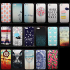 For Apple iPhone 6 6 Plus 5 5S 5C 4 4S Cute Pattern Hard Back Case Cover Skin Pe
