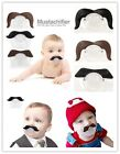 Hot Baby Kids Infant Mustache Beard Pacifier Teether Pacy Orthodontic Nipples Z