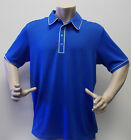New Adidas Puremotion Climacool Piped Polo Z85248 - Vivid Blue/White