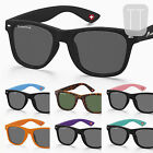 New POLARIZED SUNGLASSES Wayfarer Retro Vintage Mens Ladies Unisex Black UV400