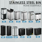 Stainless Steel Rubbish Bin Pedal Motion Sensor Waste Automatic 48/50/58/60/68L
