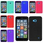 For Nokia Lumia 640 New Ultra Thin Rugged Silicone Gel Skin Rubber Back Case