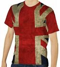 Union Jack Men's Clothing T-Shirts S M L XL 2XL 3XL